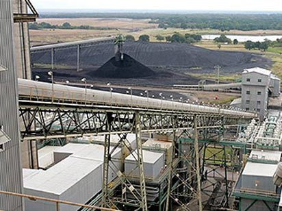 Coal Conveyor into Plant